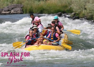 Splash for Pink Event in Maupin