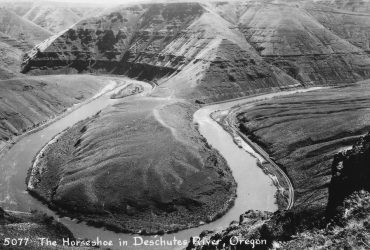 Deschutes River Filled with Soup in Maupin, Oregon